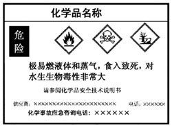 English simplified label